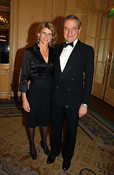 LUCA &amp; SARA CUMANI at the Cartier Racing Awards 2006 held at the Four Seasons Hotel, Hamilton Place, London on 15th November 2006.<br /><br />NON EXCLUSIVE - WORLD RIGHTS