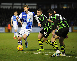 Joe Partington of Bristol Rovers gets past Tommy Rowe of Doncaster Rovers - Mandatory by-line: Neil Brookman/JMP - 23/12/2017 - FOOTBALL - Memorial Stadium - Bristol, England - Bristol Rovers v Doncaster Rovers - Sky Bet League One