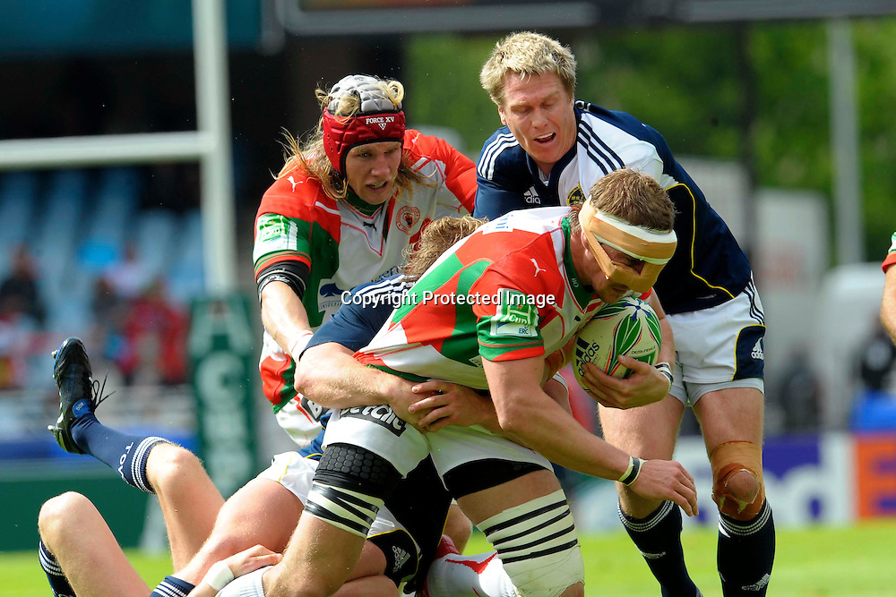 Rugby: Biarritz / Munster - 1/2Finale H Cup - 02.05.2010 - Imanol Harinordoquy
