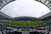 Brighton Community Stadium bowl during the USA Captain's Run in preparation for the Rugby World Cup at the American Express Community Stadium, Brighton and Hove, England on 18 September 2015.