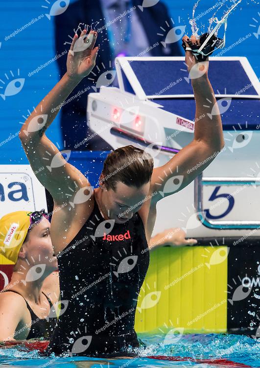 PELLEGRINI Federica ITA Gold Medal <br /> Women's 200m Freestyle <br /> swimming  <br /> 26/07/2017 <br /> XVII FINA World Championships Aquatics<br /> Duna Arena Budapest Hungary <br /> Photo Andrea Staccioli/Deepbluemedia/Insidefoto