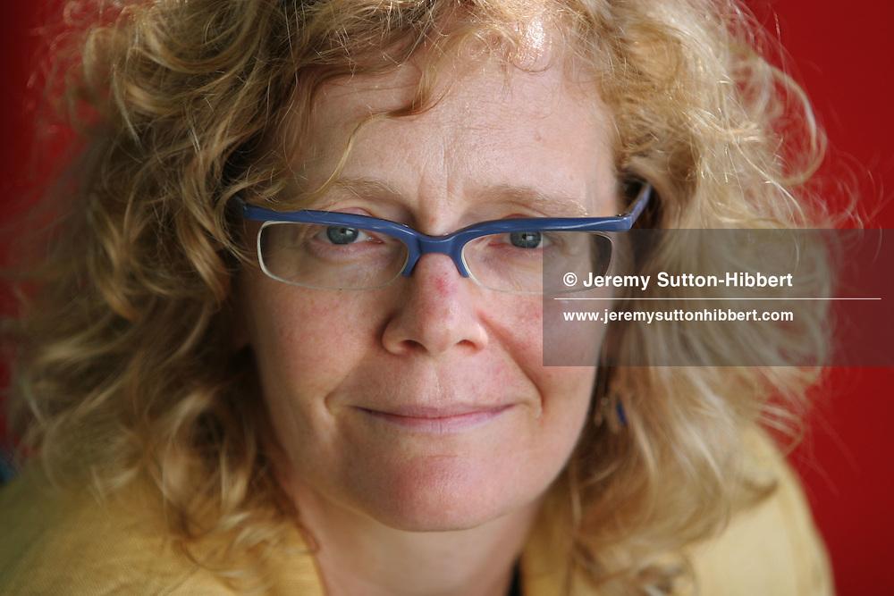 JESSICA WARNER, Canadian author. Edinburgh International Book Festival 2005, Edinburgh, Scotland.