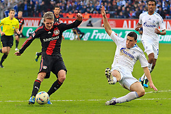 23.10.2011,  BayArena, Leverkusen, GER, 1.FBL, Bayer 04 Leverkusen vs Schalke 04, im Bild.Chance für Andre Schürrle (Leverkusen #9) (L) gegen Kyriakos Papadopoulos (Schalke #14) ..// during the 1.FBL, Bayer Leverkusen vs Schalke 04 on 2011/10/23, BayArena, Leverkusen, Germany. EXPA Pictures © 2011, PhotoCredit: EXPA/ nph/  Mueller       ****** out of GER / CRO  / BEL ******