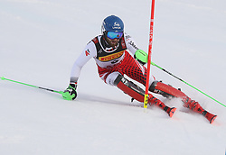 17.02.2019, Aare, SWE, FIS Weltmeisterschaften Ski Alpin, Slalom, Herren, 1. Lauf, im Bild Marco Schwarz (AUT) // Marco Schwarz (AUT) in action during his 1st run of men's Slalom of FIS Ski World Championships 2019. Aare, Sweden on 2019/02/17. EXPA Pictures © 2019, PhotoCredit: EXPA/ SM<br /> <br /> *****ATTENTION - OUT of GER*****