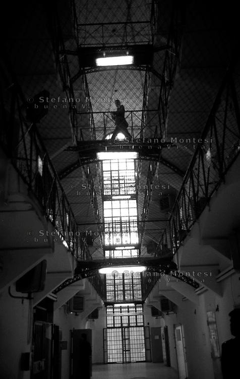 Roma 2000.Carcere di Regina Coeli.L'interno.<br /> Regina Coeli (Queen of Heaven) Prison..The inside
