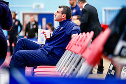 Bristol Flyers head coach, Andreas Kapoulas  - Photo mandatory by-line: Ryan Hiscott/JMP - 19/10/2018 - BASKETBALL - SGS Wise Arena - Bristol, England - Bristol Flyers v Plymouth Raiders - British Basketball League Championship