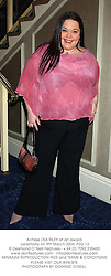 Actress LISA RILEY at an award ceremony on 9th March 2004.PSG 13