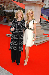 JENNY HALPERN-PRINCE and her mother at the Royal Academy of Art's SUmmer Party following the official opening of the Summer Exhibition held at the Royal Academy of Art, Burlington House, Piccadilly, London W1 on 7th June 2006.<br />