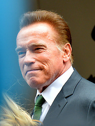 May 29, 2019 - Vienna, Austria - Arnold Schwarzenegger attending the funeral of Formula 1 racing driver Niki Lauda at St Stephan Cathedral on May 29 2019 in Vienna, Austria  (Credit Image: © Famous/Ace Pictures via ZUMA Press)