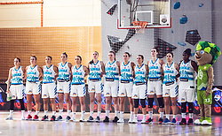 Team of Slovenia during Women's Basketball - Slovenia vs Slovaska on the 14th of June 2019, Dvorana Poden, Skofja Loka, Slovenia. Photo by Matic Ritonja / Sportida