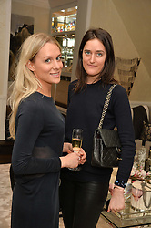 First look of the new Samsung Curved UHD TV at the Candy & Candy penthouse at No. 1 Arlington Street, London - an exclusive Samsung BlueHouse event held on 27th February 2014.<br /> Picture shows:- Petrina Nystrom and Violet von Westenholz