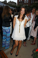 ARABELLA MUSGRAVE at the Tatler Summer Party 2006 in association with Fendi held at Home House, Portman Square, London W1 on 29th June 2006.<br />