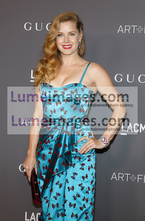 Amy Adams at the 2017 LACMA Art + Film Gala held at the LACMA in Los Angeles, USA on November 4, 2017.
