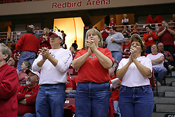 21 November 2009: Super Redbird fans. The Ospreys of North Florida fall to the Redbirds of Illinois State 71-55 on Doug Collins Court inside Redbird Arena in Normal Illinois.