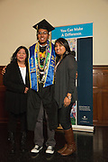San Jose State University Department of Health Science and Recreation students celebrate their educational achievements during the Department of Health Science and Recreation Fall 2013 convocation at San Jose State University's Morris Dailey Auditorium in San Jose, California, on December 20, 2013. (Stan Olszewski/SOSKIphoto)