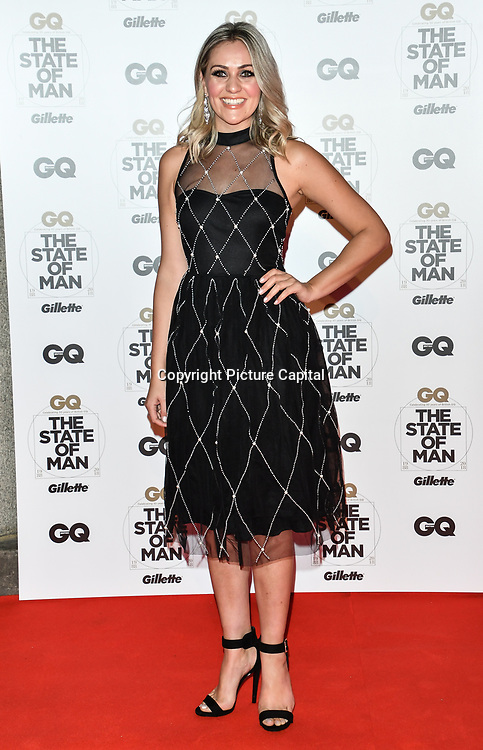Larissa Eddie Arrivers at GQ 30th Anniversary celebration at Sushisamba, The Market, Convent Garden on 29 October 2018.