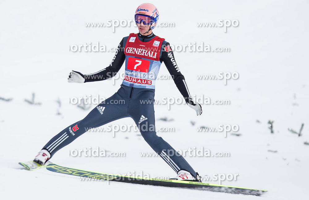 01.01.2013, Olympiaschanze, Garmisch Partenkirchen, GER, FIS Ski Sprung Weltcup, 61. Vierschanzentournee, Bewerb, im Bild Michael Neumayer (GER) // Michael Neumayer of Germany during Competition of 61th Four Hills Tournament of FIS Ski Jumping World Cup at the Olympiaschanze, Garmisch Partenkirchen, Germany on 2013/01/01. EXPA Pictures © 2012, PhotoCredit: EXPA/ Juergen Feichter