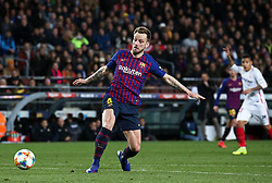 January 30, 2019 - Barcelona, Spain - Ivan Rakitic scores during the match between FC Barcelona and Sevilla FC, corresponding to the secong leg of the 1/4 final of the spanish cup, played at the Camp Nou Stadium, on 30th January 2019, in Barcelona, Spain. Photo: Joan Valls/Urbanandsport /NurPhoto. (Credit Image: © Joan Valls/NurPhoto via ZUMA Press)
