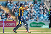 Stephen Cook (Durham CCC) during the Royal London 1 Day Cup match between Yorkshire County Cricket Club and Durham County Cricket Club at Headingley Stadium, Headingley, United Kingdom on 3 May 2017. Photo by Mark P Doherty.