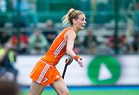 BOOM - Willemijn Bos tijdens de eerste poule wedstrijd van Oranje tijdens het Europees Kampioenschap hockey   tussen de vrouwen Nederland en Ierland (6-0). ANP KOEN SUYK