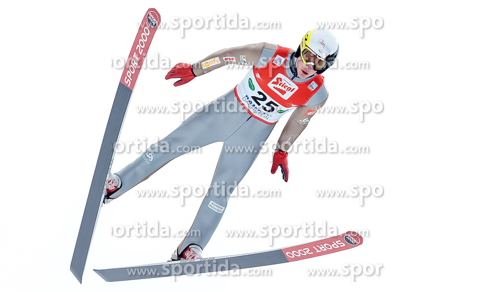 18.12.2016, Nordische Arena, Ramsau, AUT, FIS Weltcup Nordische Kombination, Skisprung, im Bild Antoine Gerard (FRA) // Antoine Gerard of France during Skijumping Competition of FIS Nordic Combined World Cup, at the Nordic Arena in Ramsau, Austria on 2016/12/18. EXPA Pictures © 2016, PhotoCredit: EXPA/ JFK