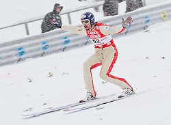 17.12.2011, Casino Arena, Seefeld, AUT, FIS Nordische Kombination, Ski Springen HS 109, im Bild Magnus H. Moan (NOR) // Magnus H. Moan of Norway during Ski jumping at FIS Nordic Combined World Cup in Sefeld, Austria on 20111211. EXPA Pictures © 2011, PhotoCredit: EXPA/ P.Rinderer