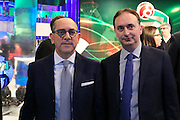 Egidio Bianchi e Marco Borroni, Presentazione POSTEMOBILE Final Eight 2017 - Rimini 16-19 fabbraio 2017 - studi RAI, Milano 23 gennaio 2017