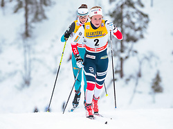 25.11.2017, Nordic Arena, Ruka, FIN, FIS Weltcup Langlauf, Nordic Opening, Kuusamo, im Bild Anna Svendsen (NOR) // Anna Svendsen of Norway during the FIS Cross Country World Cup of the Nordic Opening at the Nordic Arena in Ruka, Finland on 2017/11/25. EXPA Pictures © 2017, PhotoCredit: EXPA/ JFK