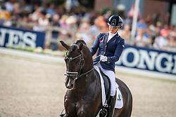 Scholtens Emmelie, NED, Indian Rock<br /> World ChampionshipsYoung Dressage Horses<br /> Ermelo 2018<br /> © Hippo Foto - Dirk Caremans<br /> 04/08/2018