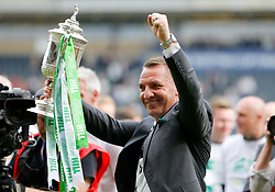 Celtic manager Brendan Rodgers after the William Hill Scottish Cup Final at Hampden Park, Glasgow.
