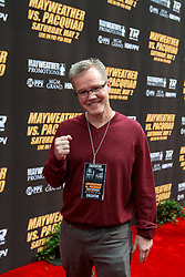 LOS ANGELES, CA - MAR 10 Freddie Roach arrives at the red carpet before the Mayweather vs Pacquiao press conference at the Nokia Theater in Los Angeles, California USA to promote their upcoming bout at the MGM Grand in Las Vegas, NV May 2, 2015. This is the ony presser. 2015 Feb 9. Byline, credit, TV usage, web usage or linkback must read SILVEXPHOTO.COM. Failure to byline correctly will incur double the agreed fee. Tel: +1 714 504 6870.
