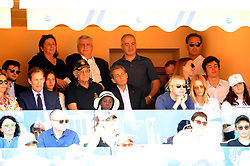 April 21, 2018 - Monaco - Tennis - Monaco - Nicolas Sarkozy France (Credit Image: © Panoramic via ZUMA Press)