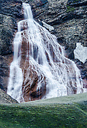 Waterfall at Landmannaaugar volcanic area. South Iceland