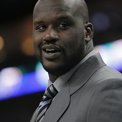 03 December 2008:  Shaquille O'Neal of the Phoenix Suns on the bench during the first half of a NBA regular season game between the Phoenix Suns and the New Orleans Hornets at the New Orleans Arena in New Orleans, LA..