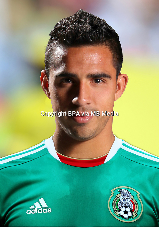 Football Fifa Brazil 2014 World Cup / <br /> Mexico National Team - <br /> Alonso Escoboza of Mexico