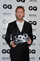 CALVIN HARRIS at the GQ Men of The Year Awards 2016 in association with Hugo Boss held at Tate Modern, London on 6th September 2016.