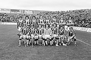 All Ireland Minor Hurling Final at Croke Park - Tipperary v Kilkenny..The Kilkenny team..05.09.1976  5th September 1976