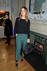 LONDON, ENGLAND 1 DECEMBER 2016: Kelly Eastwood at the Smythson & Brown's Hotel Christmas Party held at Brown's Hotel, Albemarle St, Mayfair, London, England. 1 December 2016.