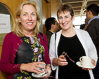 Dr. Heather Holloway, St John's Limerick Regional, Dr. Eilis Cryan Bons Secours Galway at the Clinical Science Building UCHG. Photo:Andrew Downes