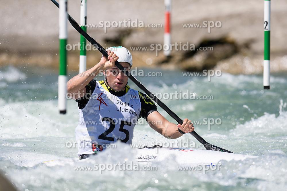 Pedro GONCALVES of Brazil during the Kayak Single (MK1) Mens Semi Final race of 2019 ICF Canoe Slalom World Cup 4, on June 30, 2019 in Tacen, Ljubljana, Slovenia. Photo by Sasa Pahic Szabo / Sportida