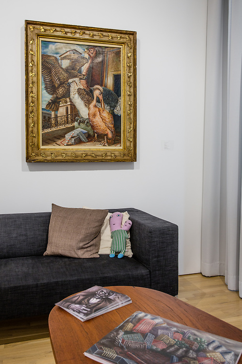 Alberto Savinio's Jour Deception, 1930, at the Center for Italian Modern Art.