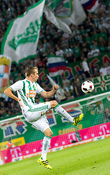 25.08.2016, Allianz Stadion, Wien, AUT, UEFA EL, SK Rapid Wien vs FK AS Trencin, Play off, Rueckspiel, im Bild Christopher Dibon (SK Rapid Wien)// during the UEFA Europa League Play off 2nd Leg Match between SK Rapid Wien and FK AS Trencin at the Allianz Stadion, Vienna, Austria on 2016/08/25. EXPA Pictures © 2016, PhotoCredit: EXPA/ Sebastian Pucher