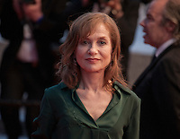 Actress Isabelle Huppert at the gala screening for the film Elle at the 69th Cannes Film Festival, Saturday 21st May 2016, Cannes, France. Photography: Doreen Kennedy