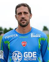 Nicolas PENNETEAU - 18.09.2013 - Presentation Officielle des Equipes de Ligue 1<br /> Photo : Fred Porcu / Icon Sport
