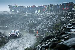 October 5, 2018 - Grande Bretagne - Elfyn Evans (GBR) -  Daniel Barritt (GBR) - Ford Fiesta WRC (Credit Image: © Panoramic via ZUMA Press)