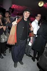 Designer RON ARAD at a retrospective exhibition of Hussein Chalayan's designs sponsored by Puma at The Design Museum, London SE1 on 21st January 2009.