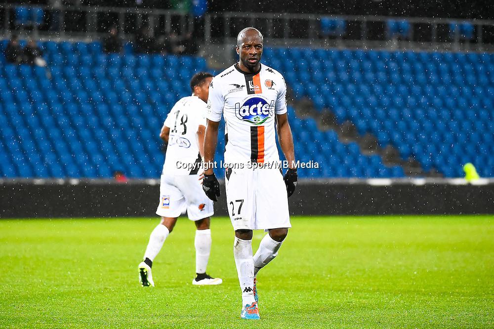 Djibril KONATE  - 12.12.2014 - Le Havre / Laval - 17eme journee de Ligue 2 <br /> Photo : Fred Porcu / Icon Sport
