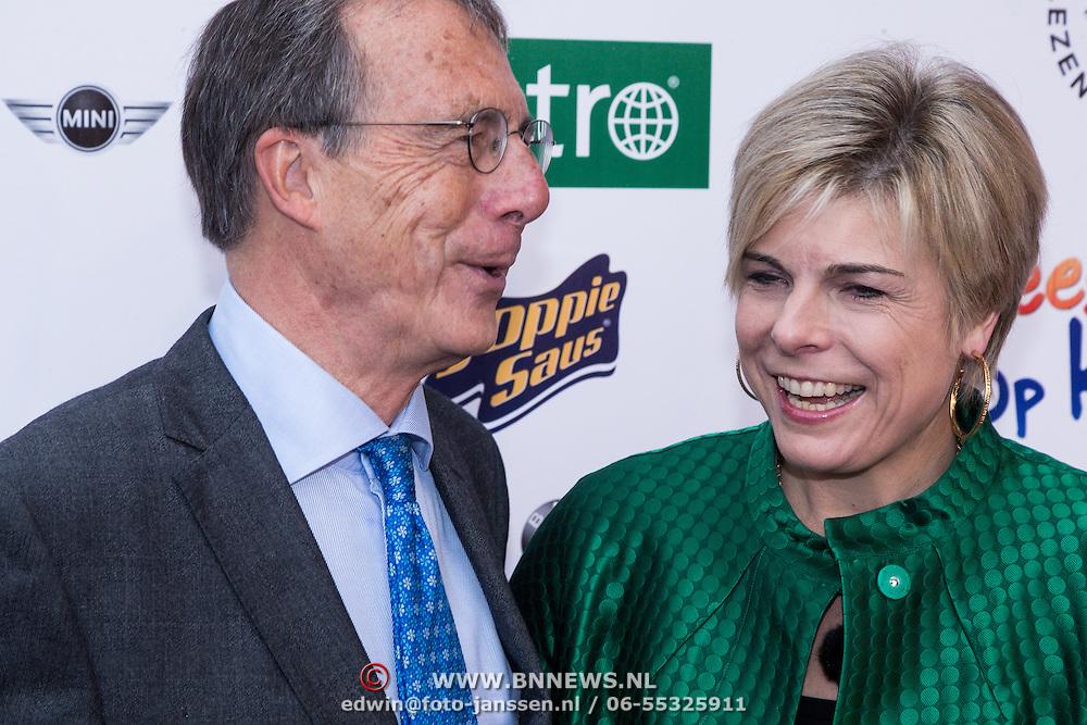 NLD/Ede/20131208 - Premiere Mees Kees, Pr. Laurentien en haar vader Laurens Jan Brinkhorst