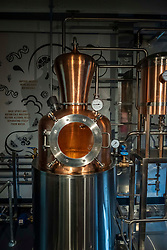 Pictured:The Holyrood Distiller uses a unique still designed and built in house.<br />