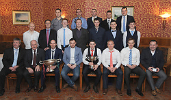 Westport hurlers County league winners pictured at the clubs GAA Club dinner dance at Hotel Westport.<br />